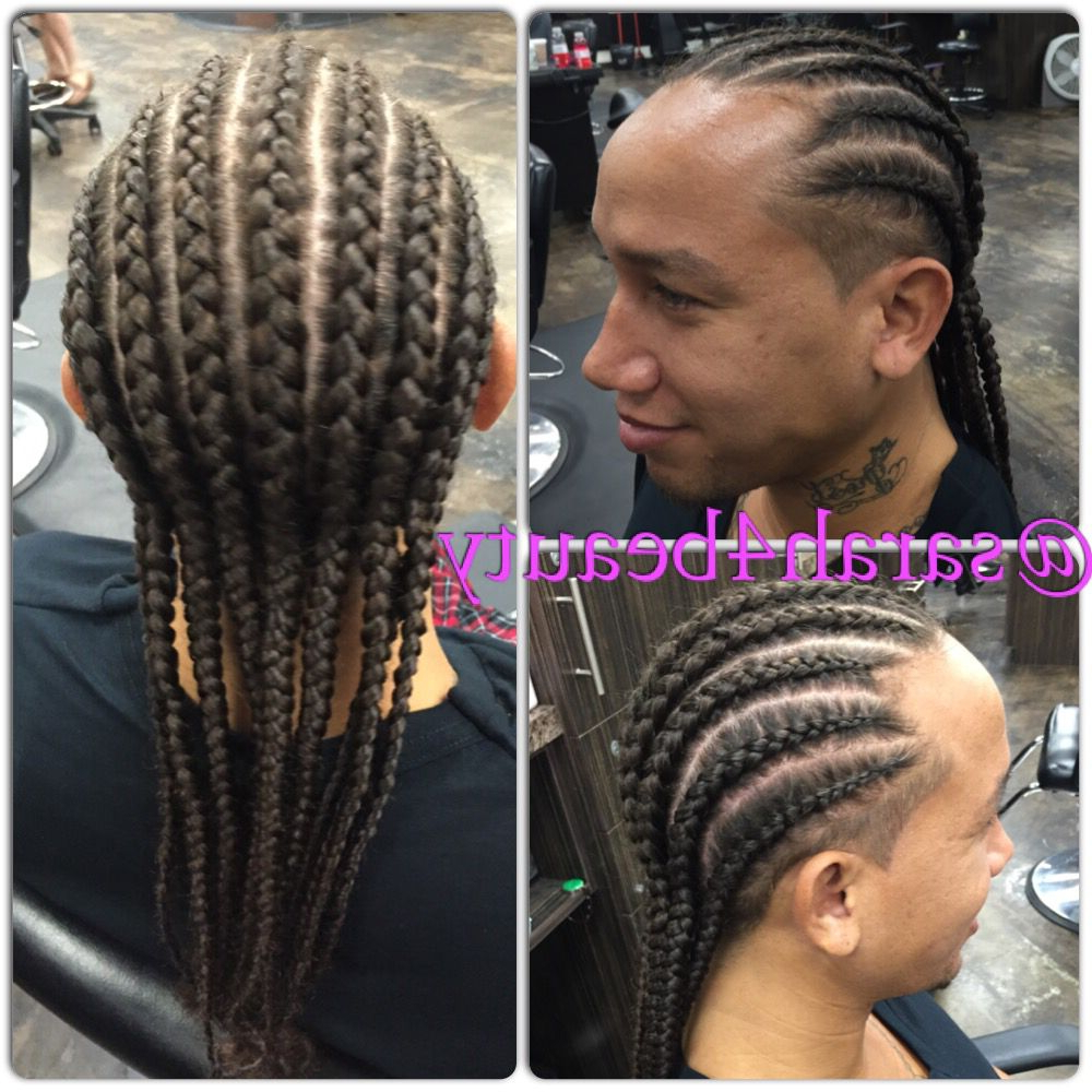 Cool Hairstyles, Cornrows In Popular Accessorized Straight Backs Braids (View 5 of 20)