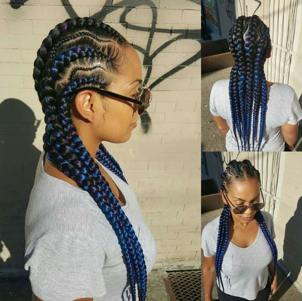 Cornrows (View 5 of 20)
