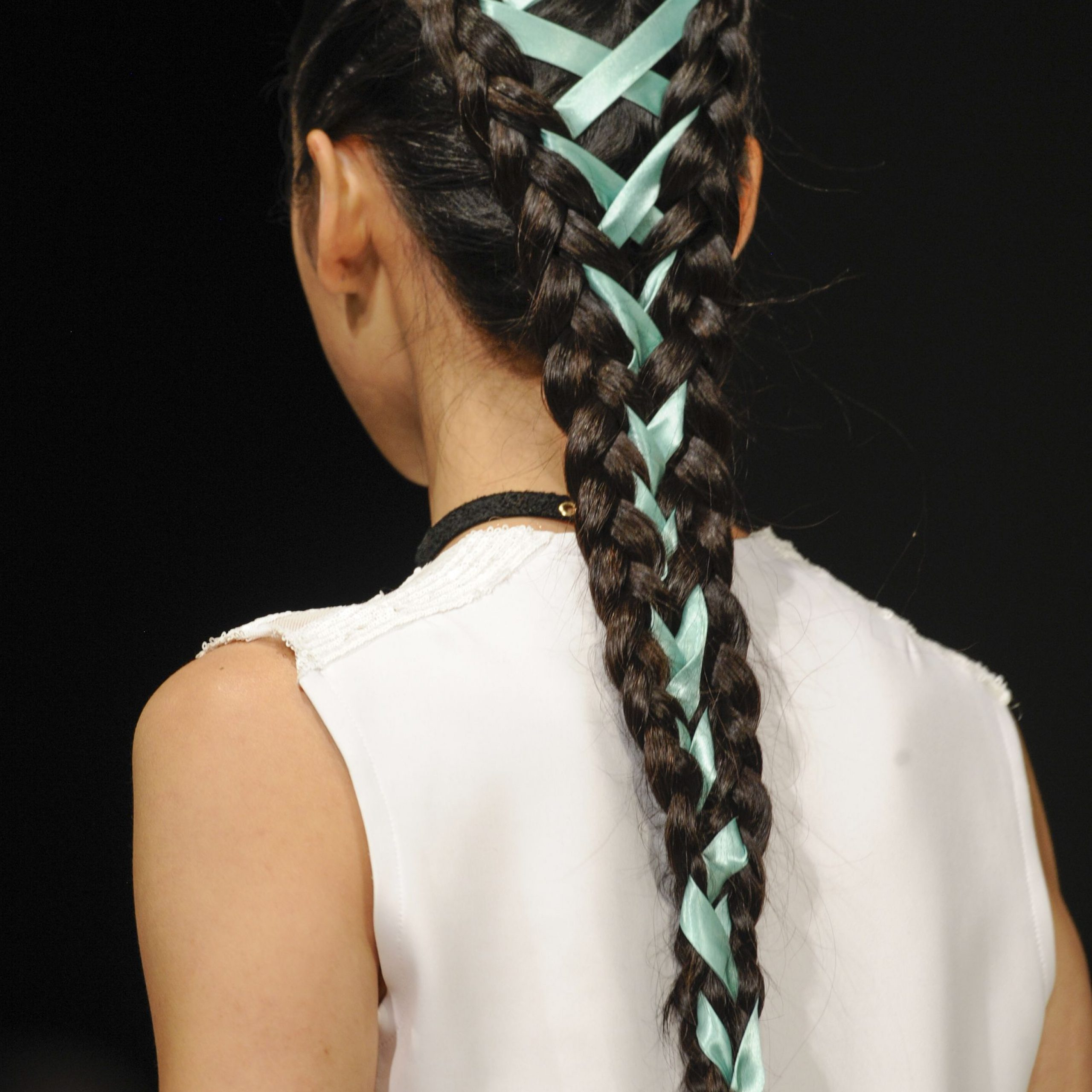 Corset Braids: The New Way To Tie Up Your Hair Inside Recent Corset Braid Hairstyles (View 7 of 20)
