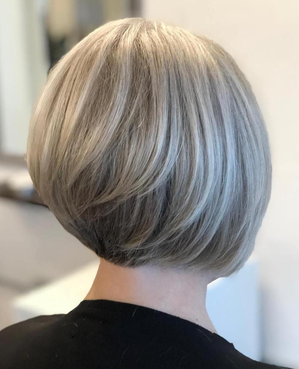 Current Jaw Length Short Bob Hairstyles For Fine Hair Regarding Pin On Hair And Beauty (View 7 of 20)