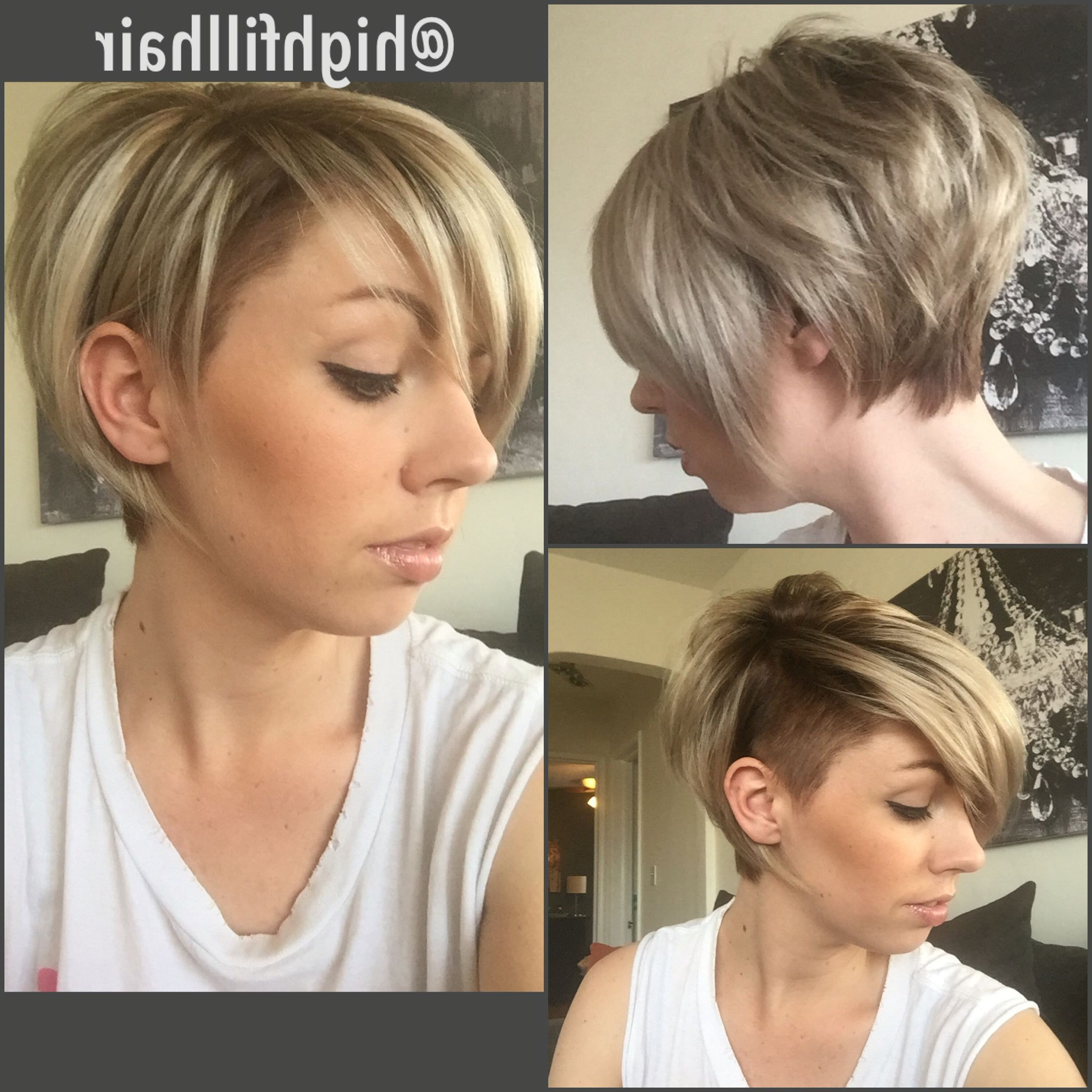 Current Long Undercut Hairstyles With Shadow Root Intended For Pin On Short Hair (View 3 of 20)