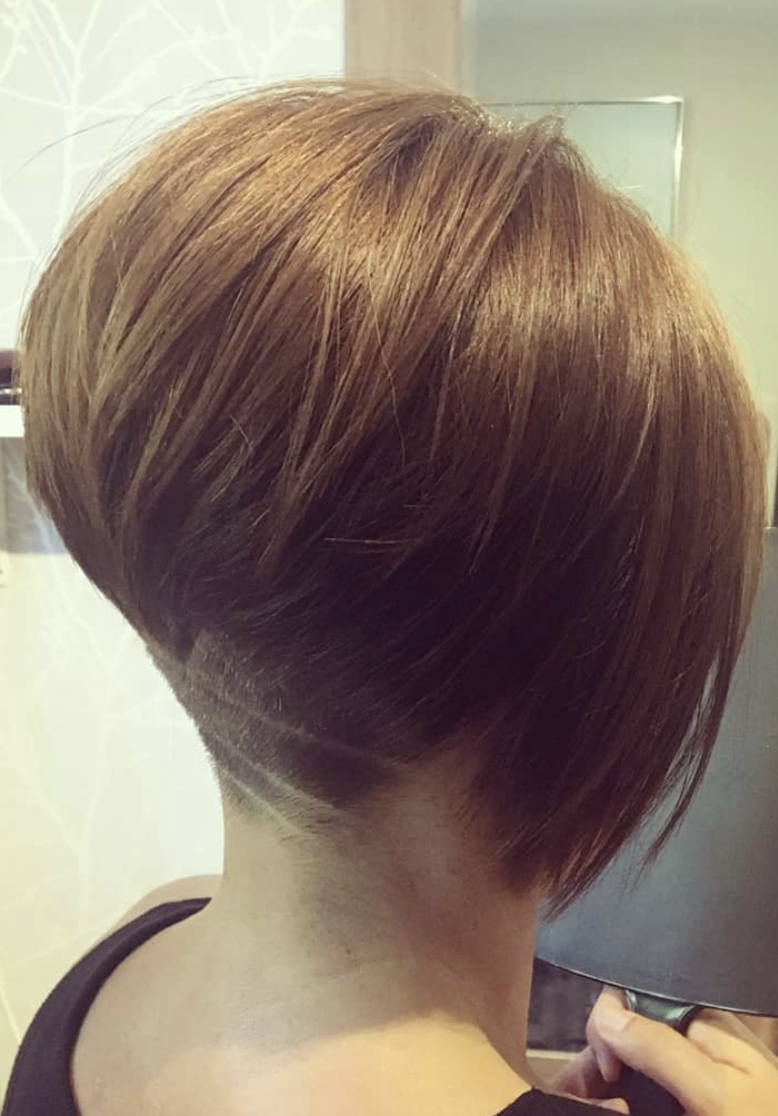Current Super Short Inverted Bob Hairstyles Pertaining To Pin On Cute Hair (View 11 of 20)