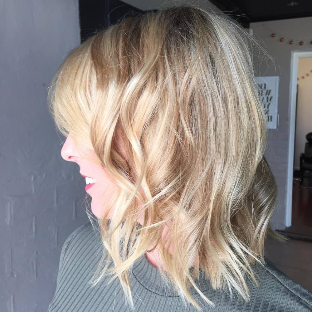 Current Versatile Lob Bob Hairstyles Pertaining To 30 Cute Long Bob Haircuts & Lob Hairstyles Of (View 9 of 20)