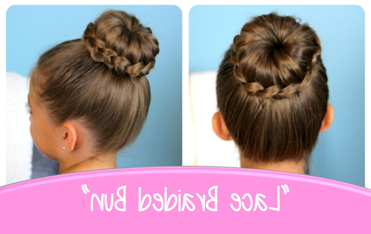 Cute Girls Hairstyles With Regard To Famous Plaited Chignon Braid Hairstyles (View 14 of 20)