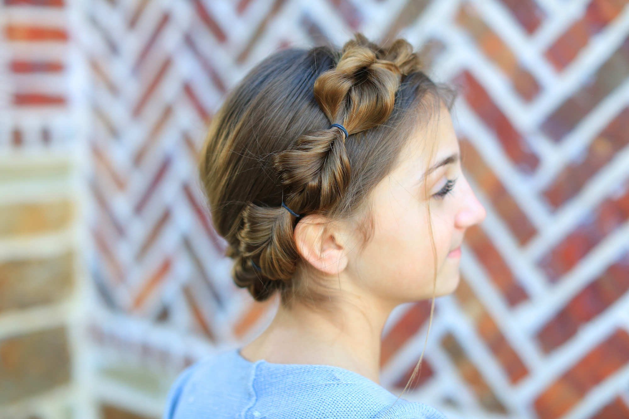 Cute Girls Intended For 2020 Fishtail Crown Braid Hairstyles (View 6 of 20)