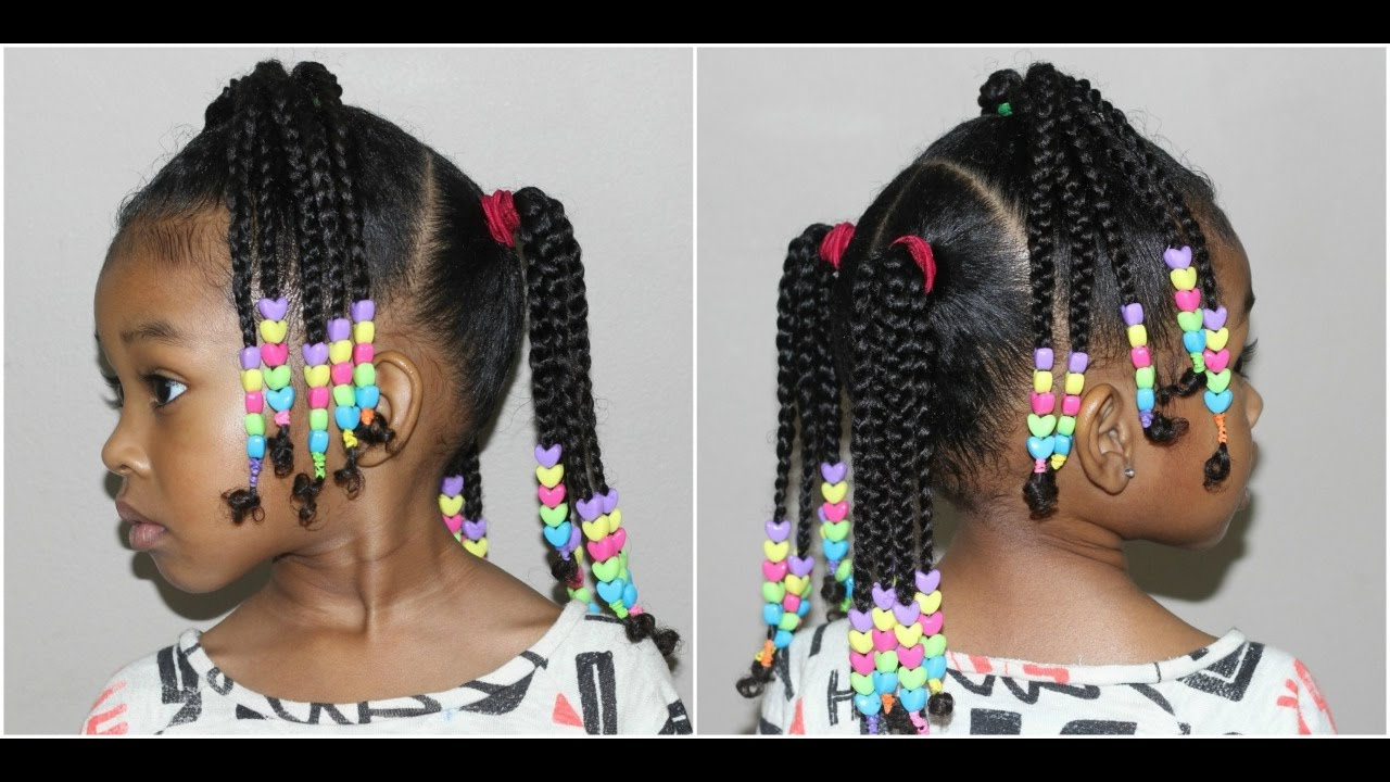Cute Hairstyles For Girls With Well Known Beaded Braids Hairstyles (View 8 of 20)