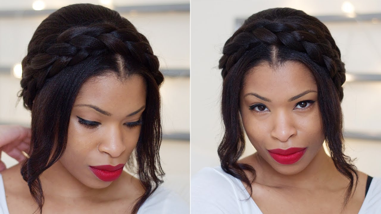 Cute Milkmaid Braids For Spring (View 12 of 20)