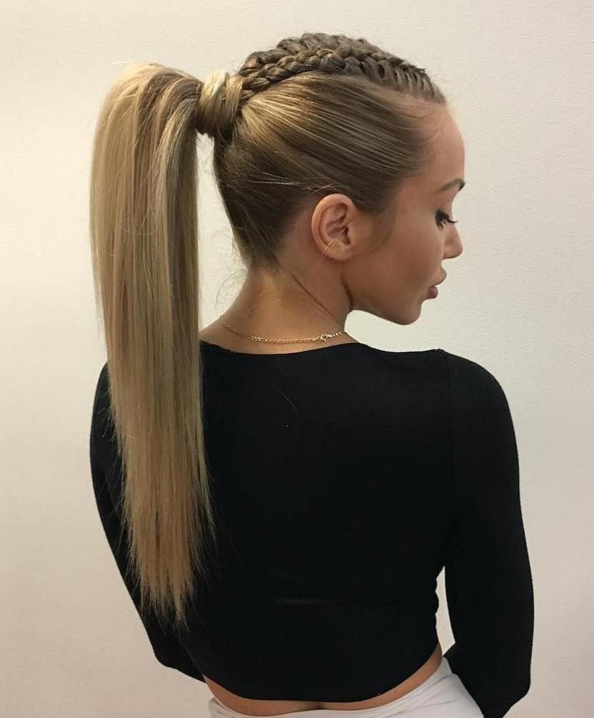 Featured Photo of High Ponytail Braid Hairstyles