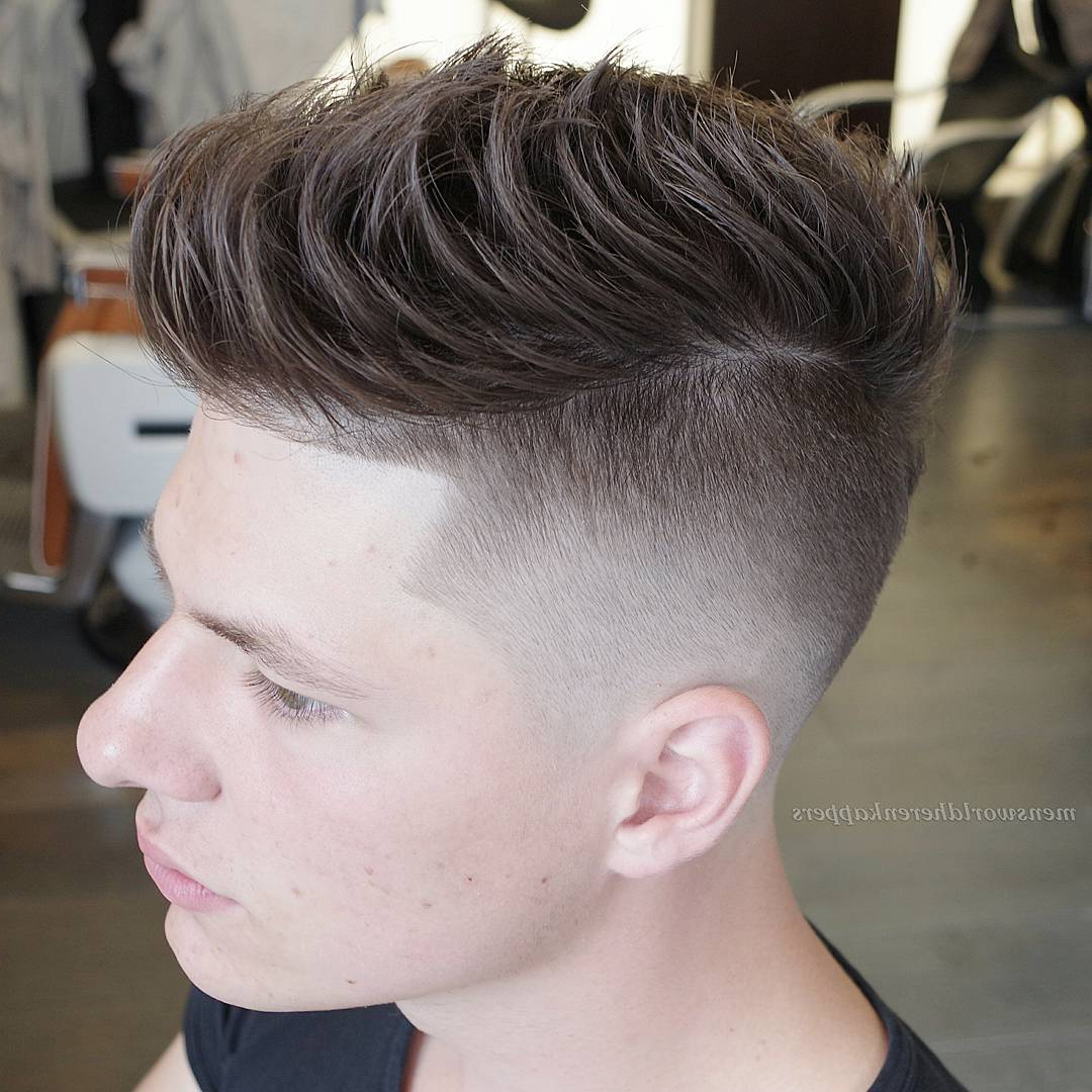 Disconnected Undercut Haircut – 15 Best Hairstyles For Men Within 2018 Disconnected Pixie Haircuts With An Undercut (View 9 of 20)
