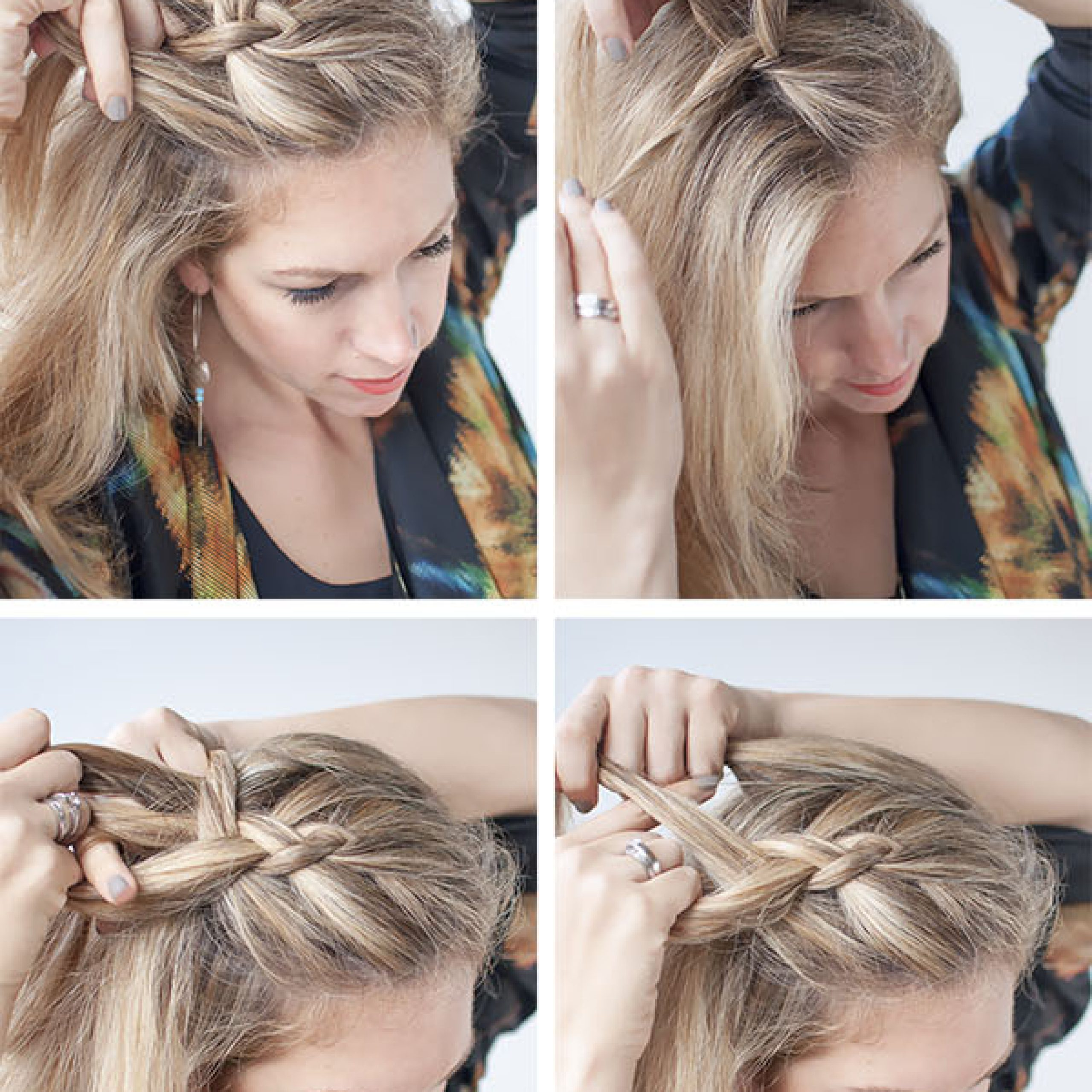 Dutch Side Braid Hairstyle Tutorial – Hair Romance With Best And Newest Side Dutch Braid Hairstyles (View 10 of 20)
