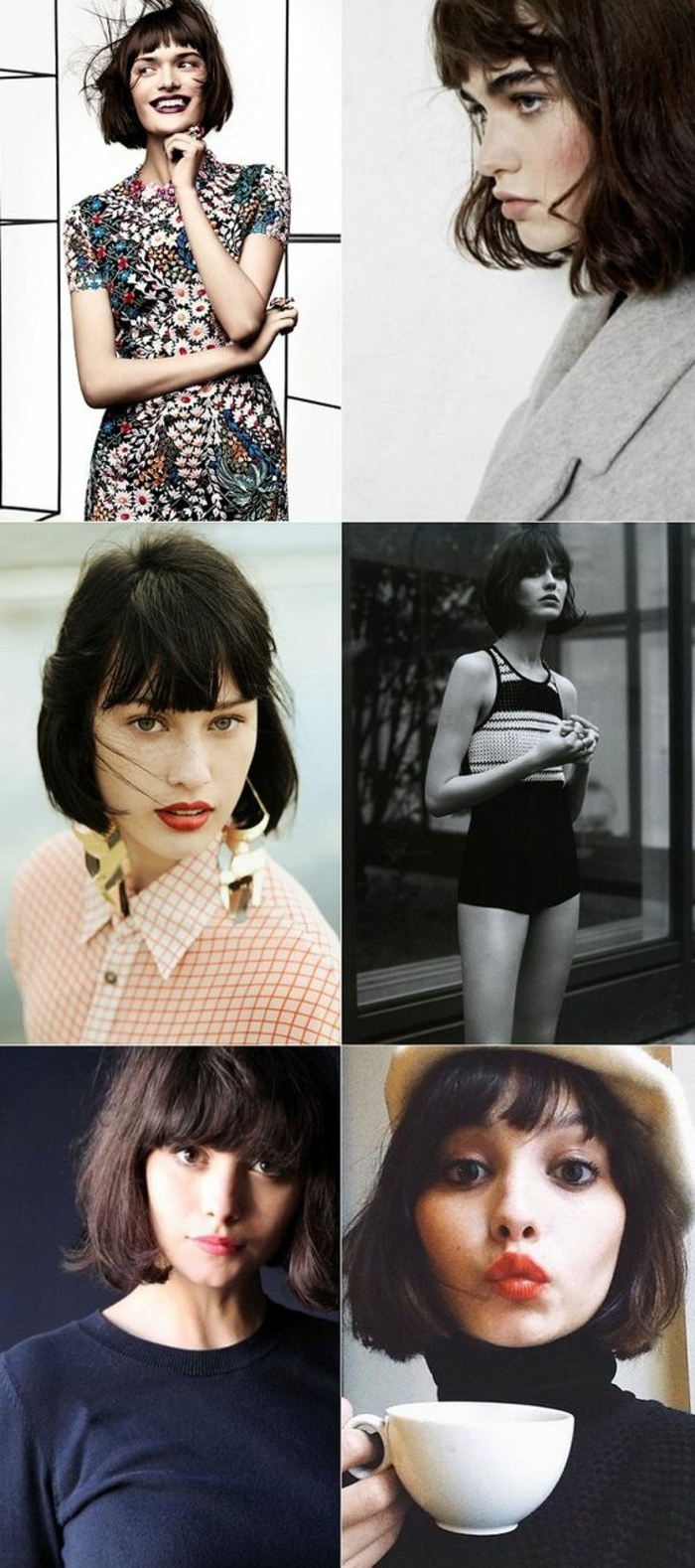 ▷1001 + Ideas For Beautiful Hairstyles For Short Hair With Regard To Most Popular Vintage Bob Hairstyles With Bangs (View 1 of 20)