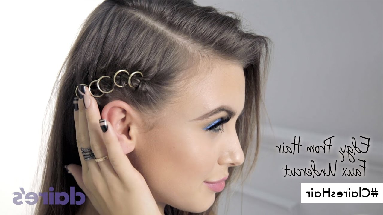 Edgy Prom Hair How To (View 6 of 20)