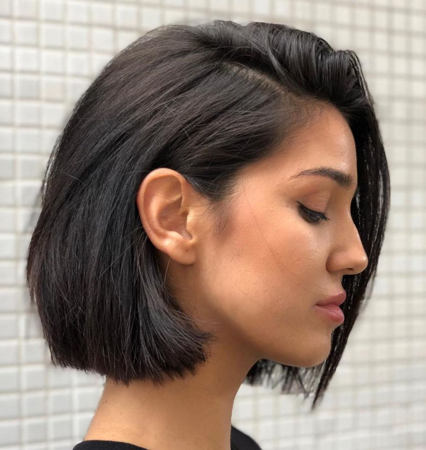 Featured Photo of Ear Length French Bob Hairstyles