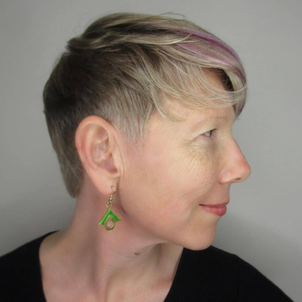 Famous Edgy Look Pixie Haircuts With Sass Regarding 43 Youthful Short Hairstyles For Women Over 50 In (View 7 of 20)