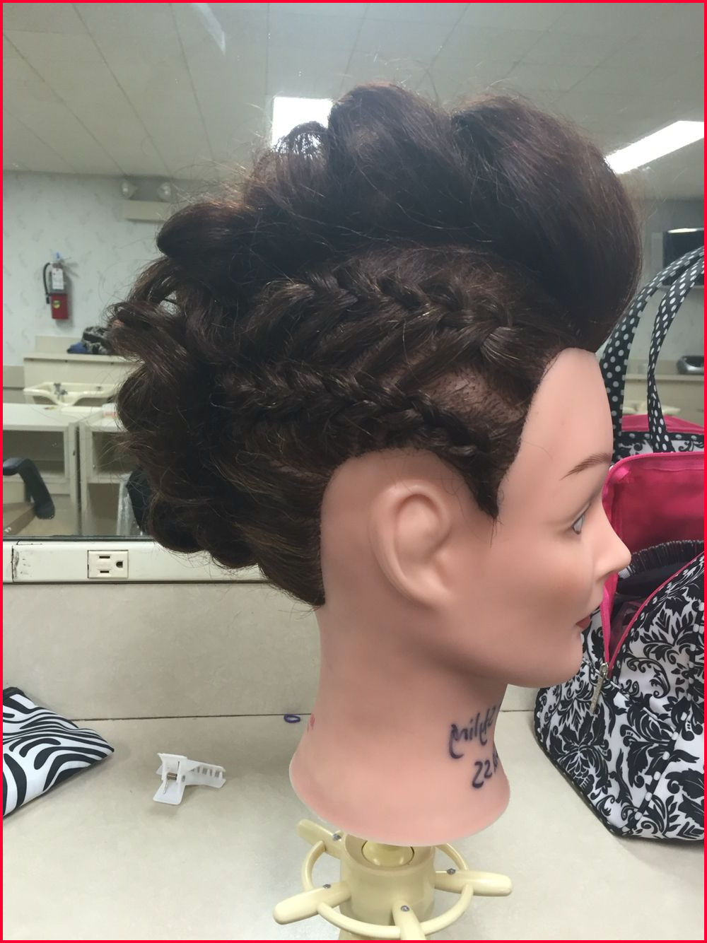 Famous Faux Hawk Braid Hairstyles Within Black Braided Updo Hairstyles Pictures 268424 Braided Faux (View 7 of 20)