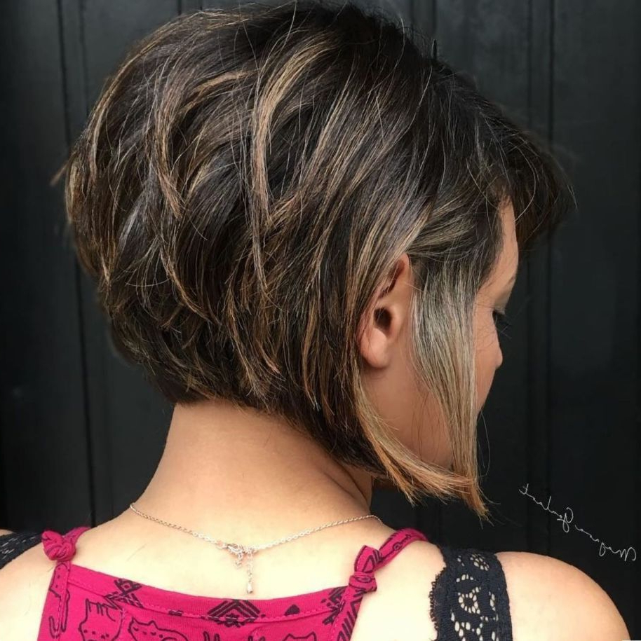 Famous Gorgeous Bob Hairstyles For Thick Hair Inside Pin On Hair Cuts Woman (Gallery 2 of 20)