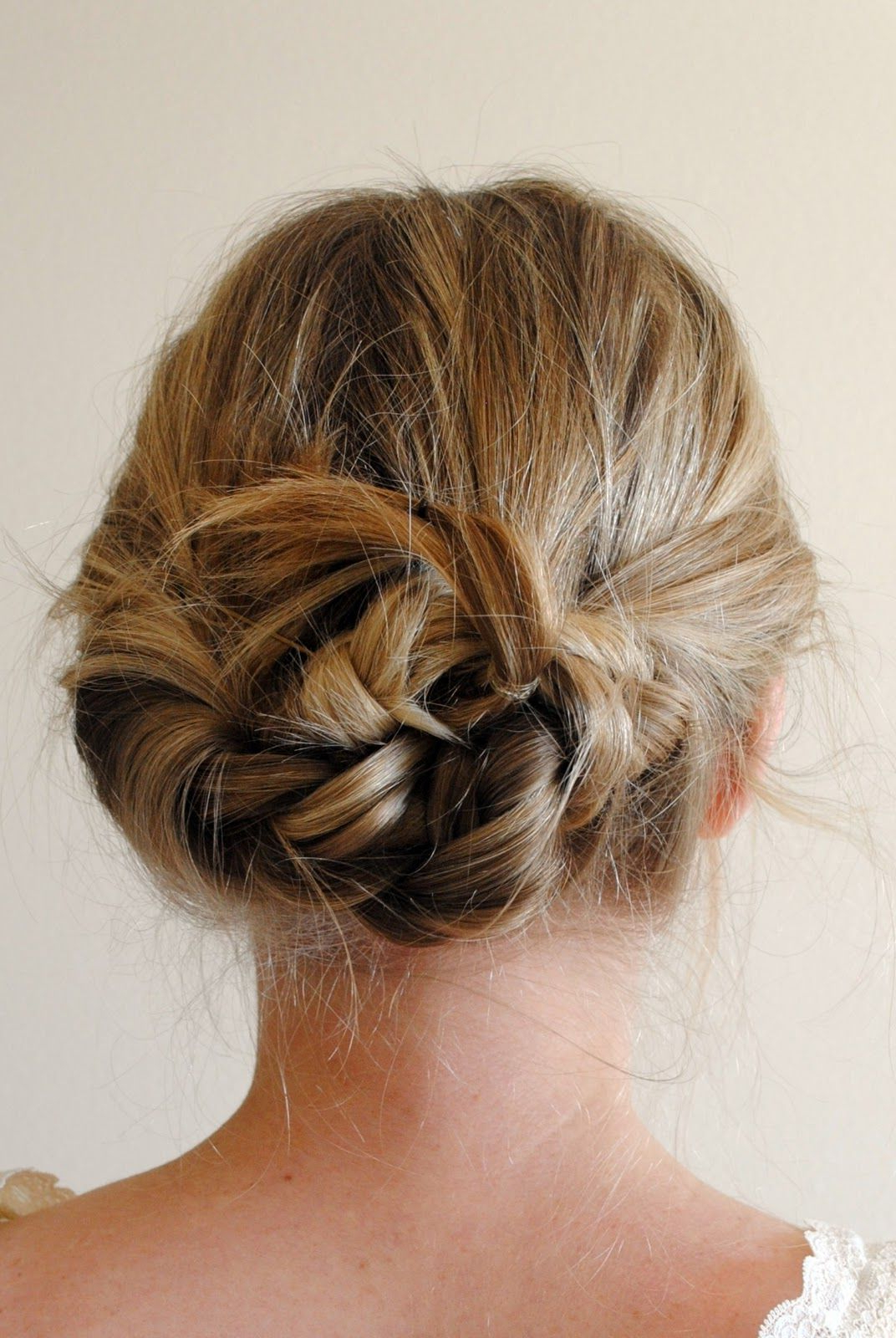 Famous Loosely Tied Braid Hairstyles With A Ribbon Inside This Is Pretty, And So Easy! Braid Hair Like Putting It In (Gallery 3 of 20)