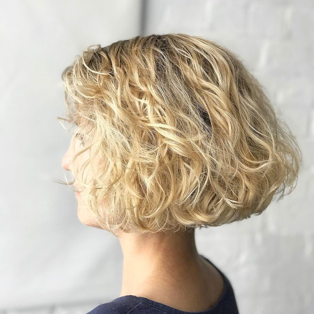 Famous Sassy Wavy Bob Hairstyles Throughout 25 Cute & Easy Hairstyles For Short Curly Hair (View 10 of 20)