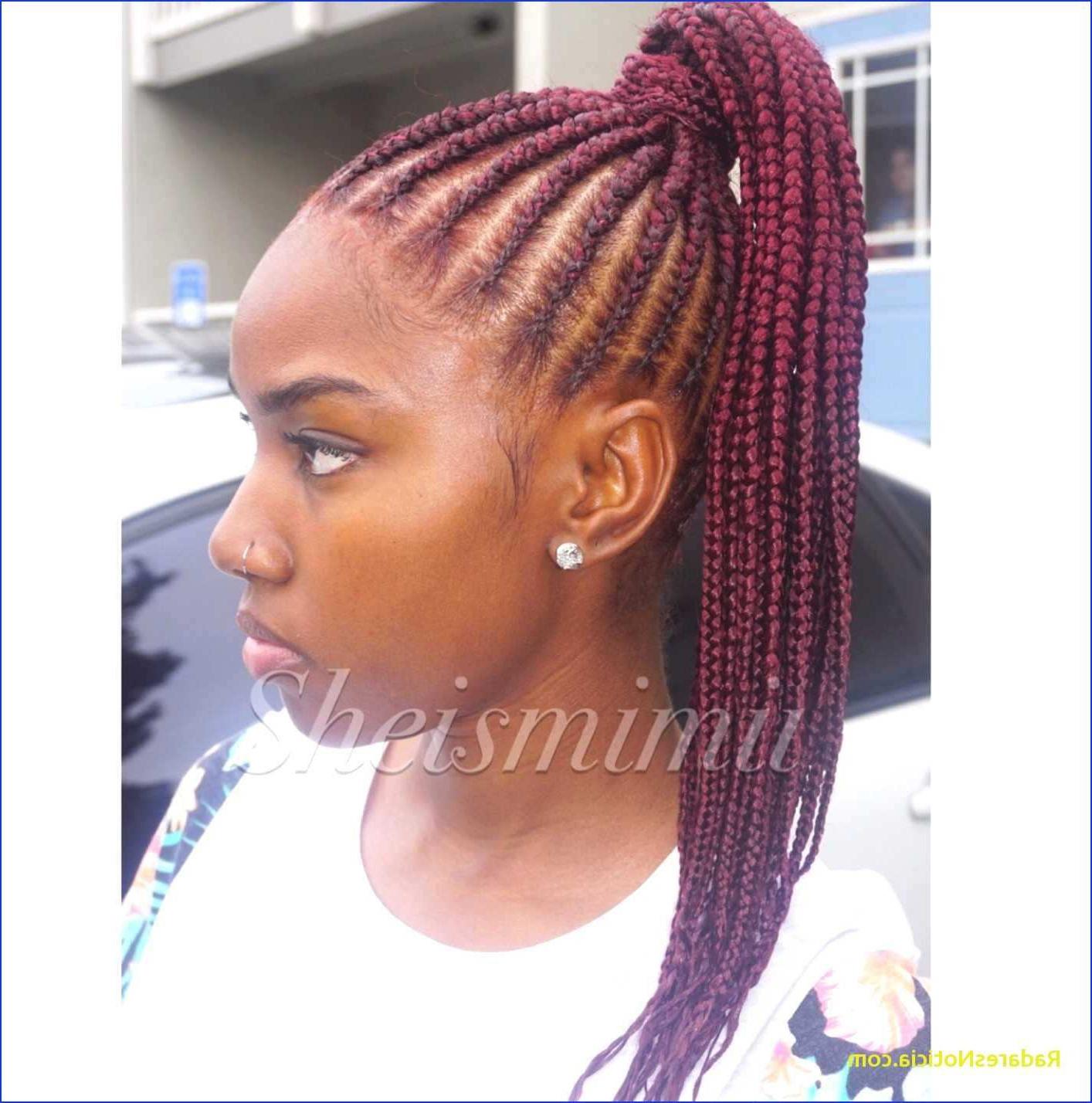 Fashion : 20 Great Ponytail Braid Hairstyles Picture 68 Within Trendy Ponytail Braid Hairstyles (View 6 of 20)