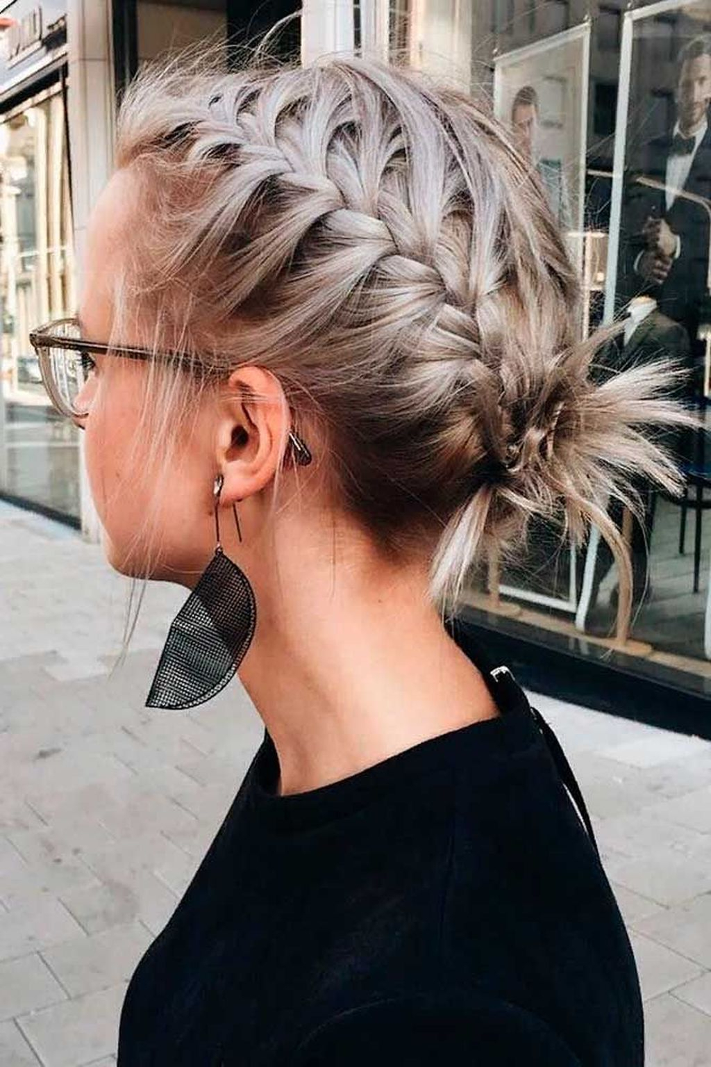 Fashionable Braided Short Hairstyles For 32 Braided Short Hairstyles Ideas Which Will Be Popular This (Gallery 20 of 20)