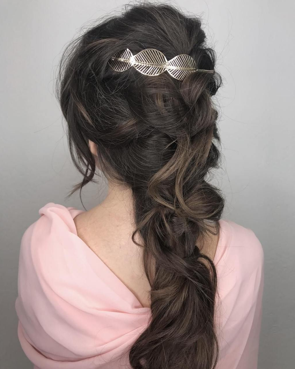 Fashionable Grecian Inspired Ponytail Braid Hairstyles Inside 20 Best Greek Hairstyles We're Obsessed With (View 4 of 20)