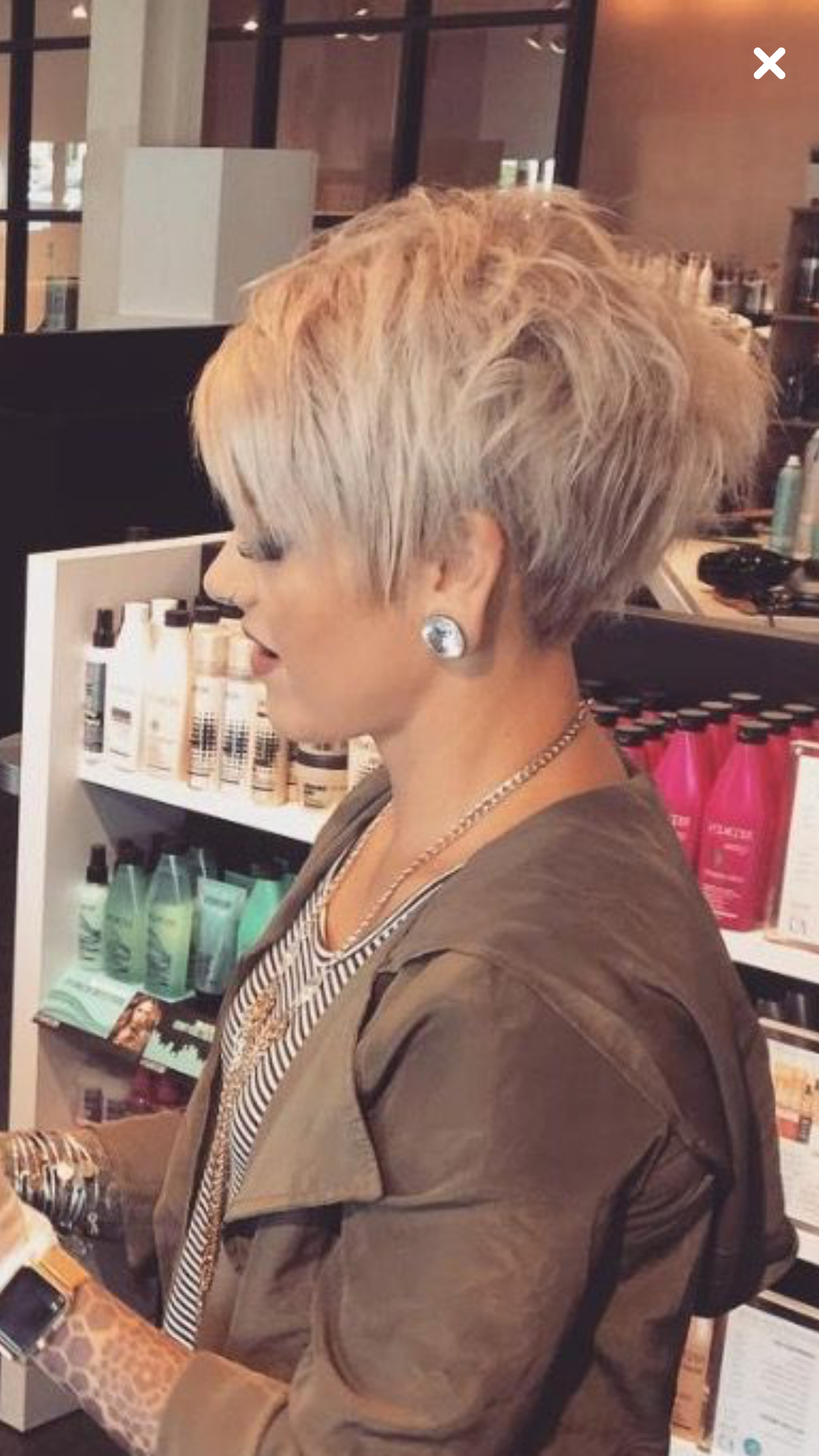 Fashionable Short Choppy Layers Pixie Bob Hairstyles With Regard To Pin On Pixie Hair (Gallery 20 of 20)