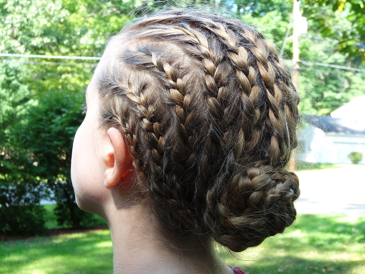 Fashionable Tapered Tail Braid Hairstyles Inside Braid (Hairstyle) – Wikipedia (View 7 of 20)