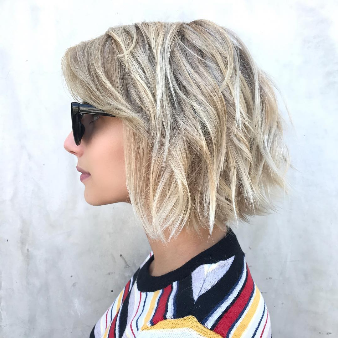 Favorite Flippy Layers Hairstyles Pertaining To Top 10 Low Maintenance Short Bob Cuts For Thick Hair, Short (Gallery 13 of 20)