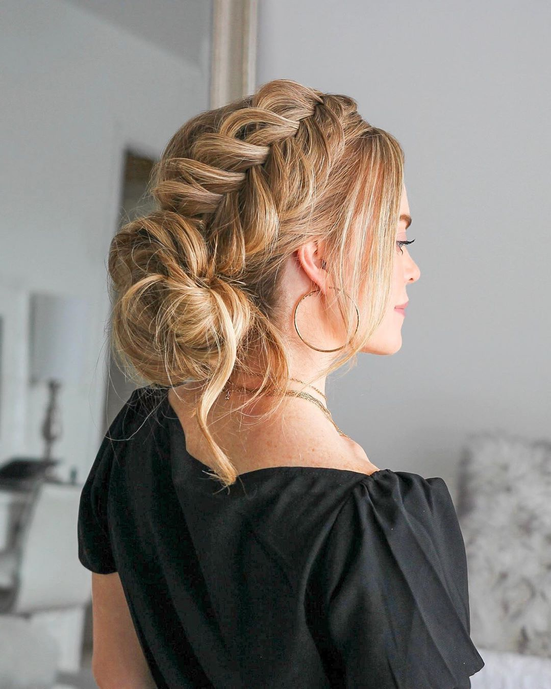 Favorite Modern Braided Top Knot Hairstyles Inside 10 Beautiful Braided Updo Hairstyles For Women – Modern Updo (View 8 of 20)