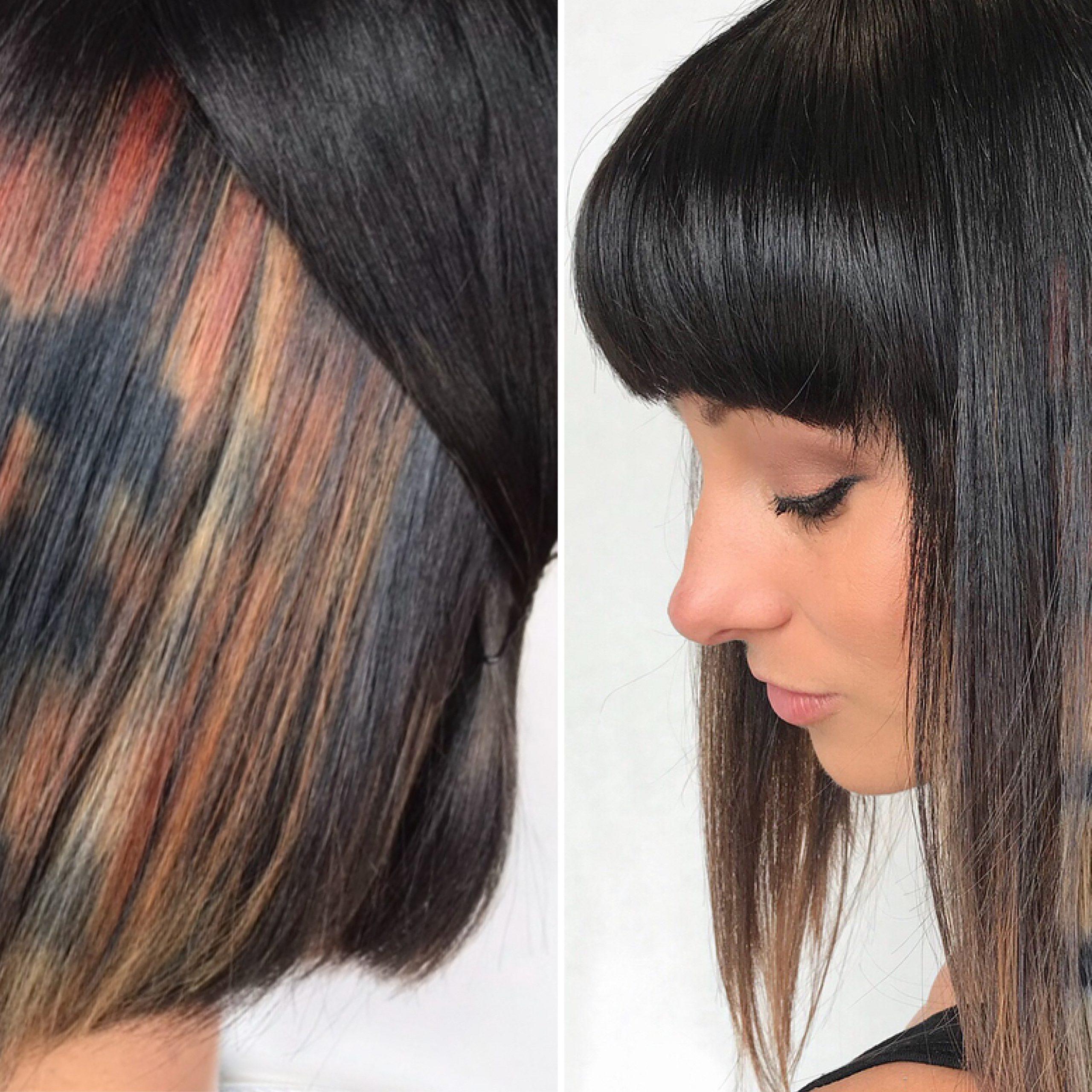 Favorite Peek A Boo Braid Hairstyles Inside Peekaboos Ponytail Hair (View 14 of 20)