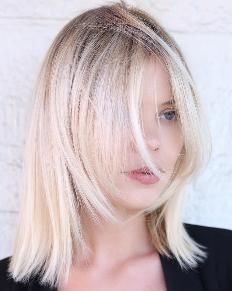 Favorite Sassy Angled Blonde Bob Hairstyles With Regard To 50 Head Turning Hairstyles For Thin Hair To Flaunt In (View 4 of 20)
