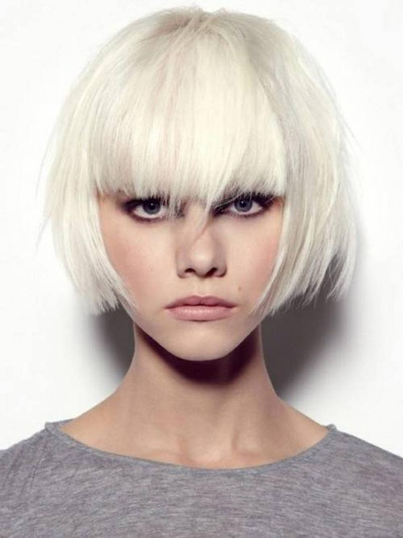 Favorite Sharp And Blunt Bob Hairstyles With Bangs Regarding The Best Inverted Bob Hairstyles For A Short And Medium Hair (View 10 of 20)