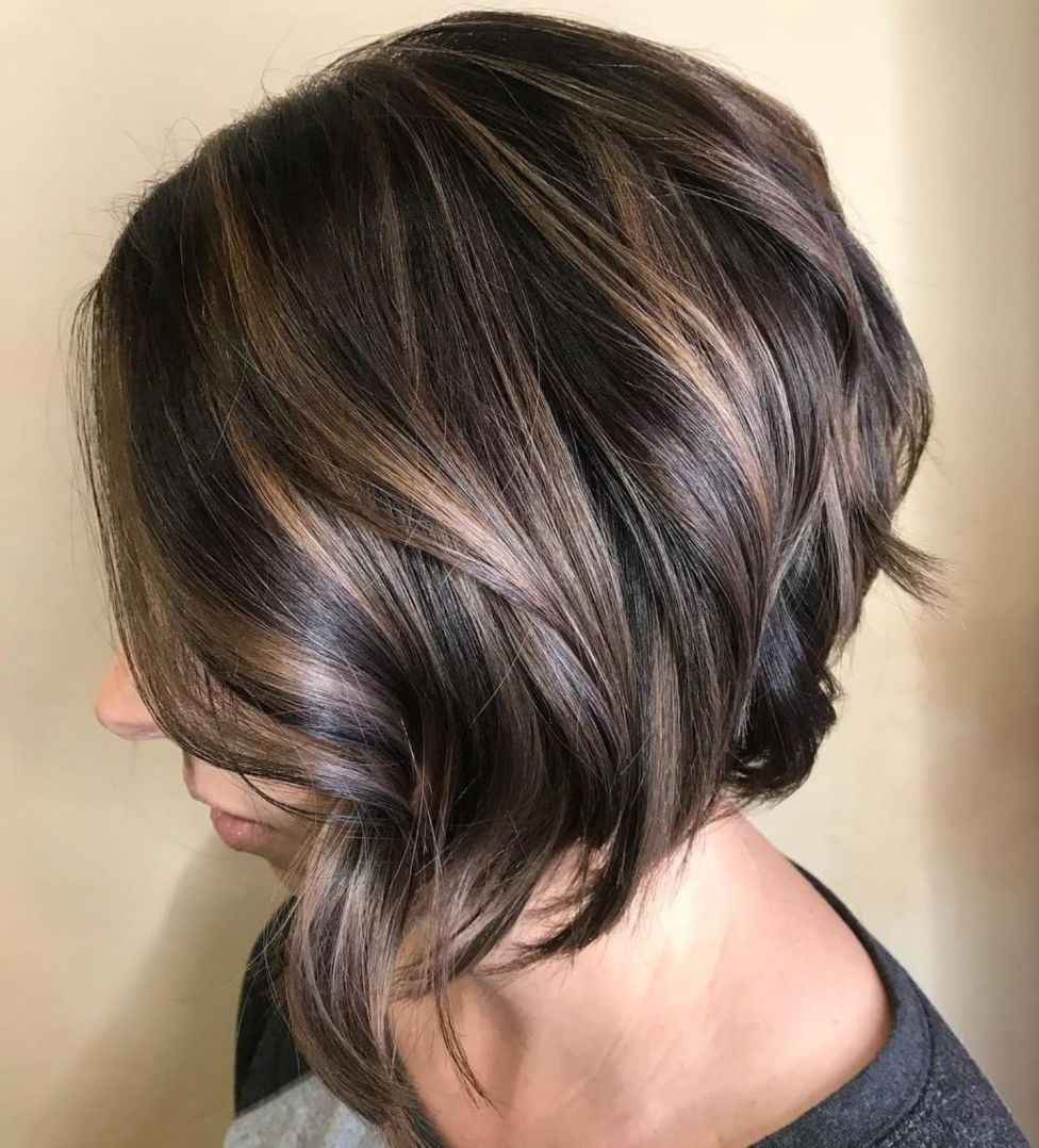 Favorite Shiny Strands Blunt Bob Hairstyles With Regard To 70 Fabulous Choppy Bob Hairstyles (View 2 of 20)