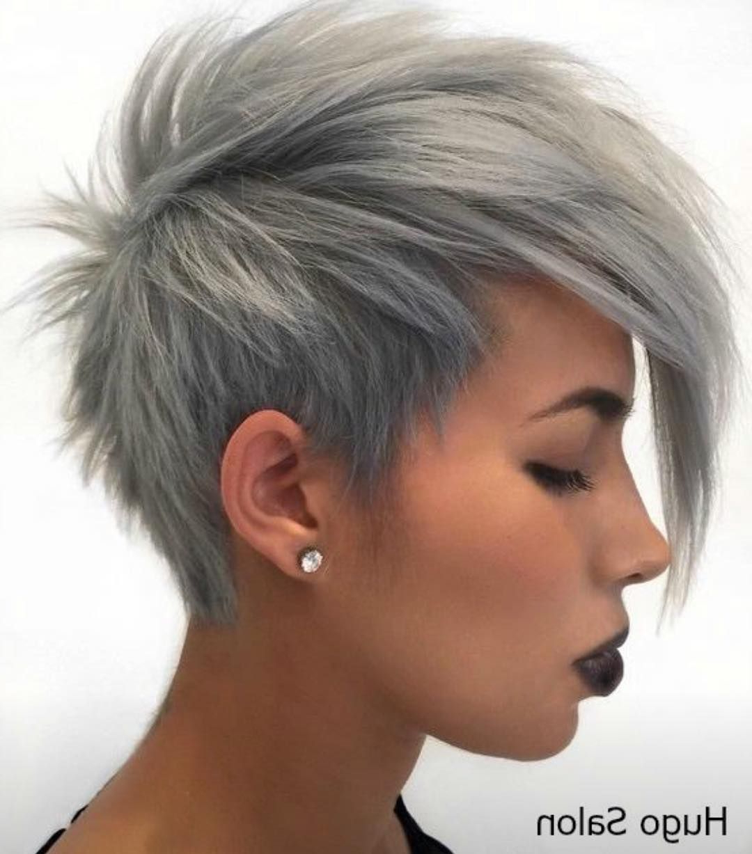 Favorite Smokey Pastel Colors Pixie Haircuts Regarding Pin On Hair Makeup And Nails (View 4 of 20)