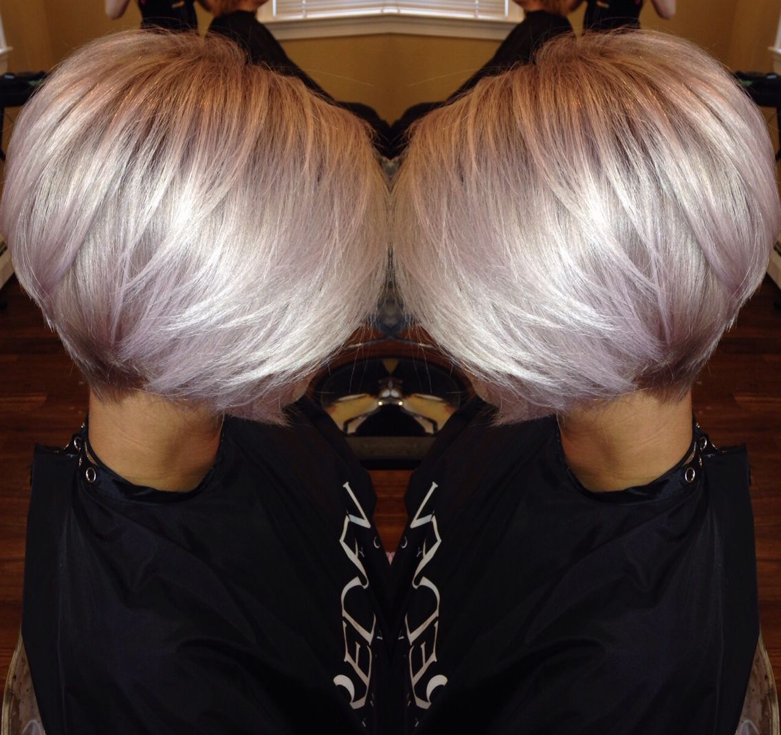Favorite Smokey Pastel Colors Pixie Haircuts With Regard To Smokey Amethystwella (View 5 of 20)