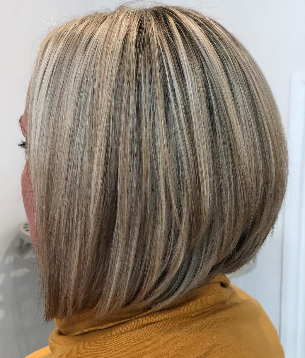 Find Your Best Bob Haircut For 2020 Intended For 2018 Rounded Sleek Bob Hairstyles With Minimal Layers (Gallery 10 of 20)