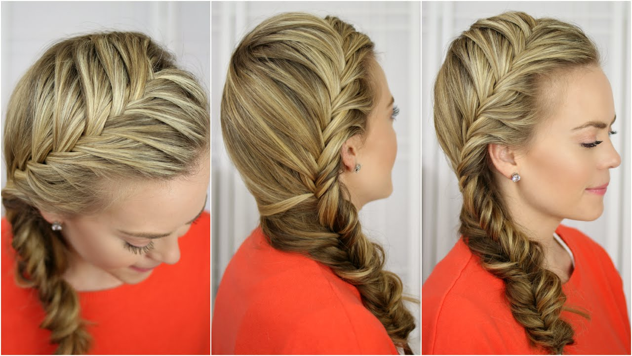 Fishtail French Braid With Most Recently Released Fishtail Side Braid Hairstyles (Gallery 9 of 20)