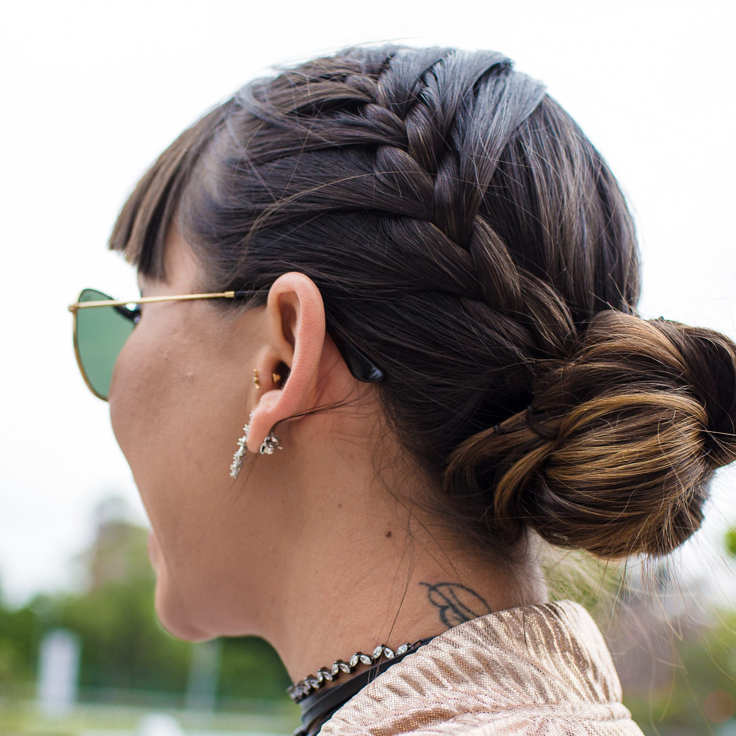 Glamour In Widely Used Three Strand Side Braid Hairstyles (View 9 of 20)