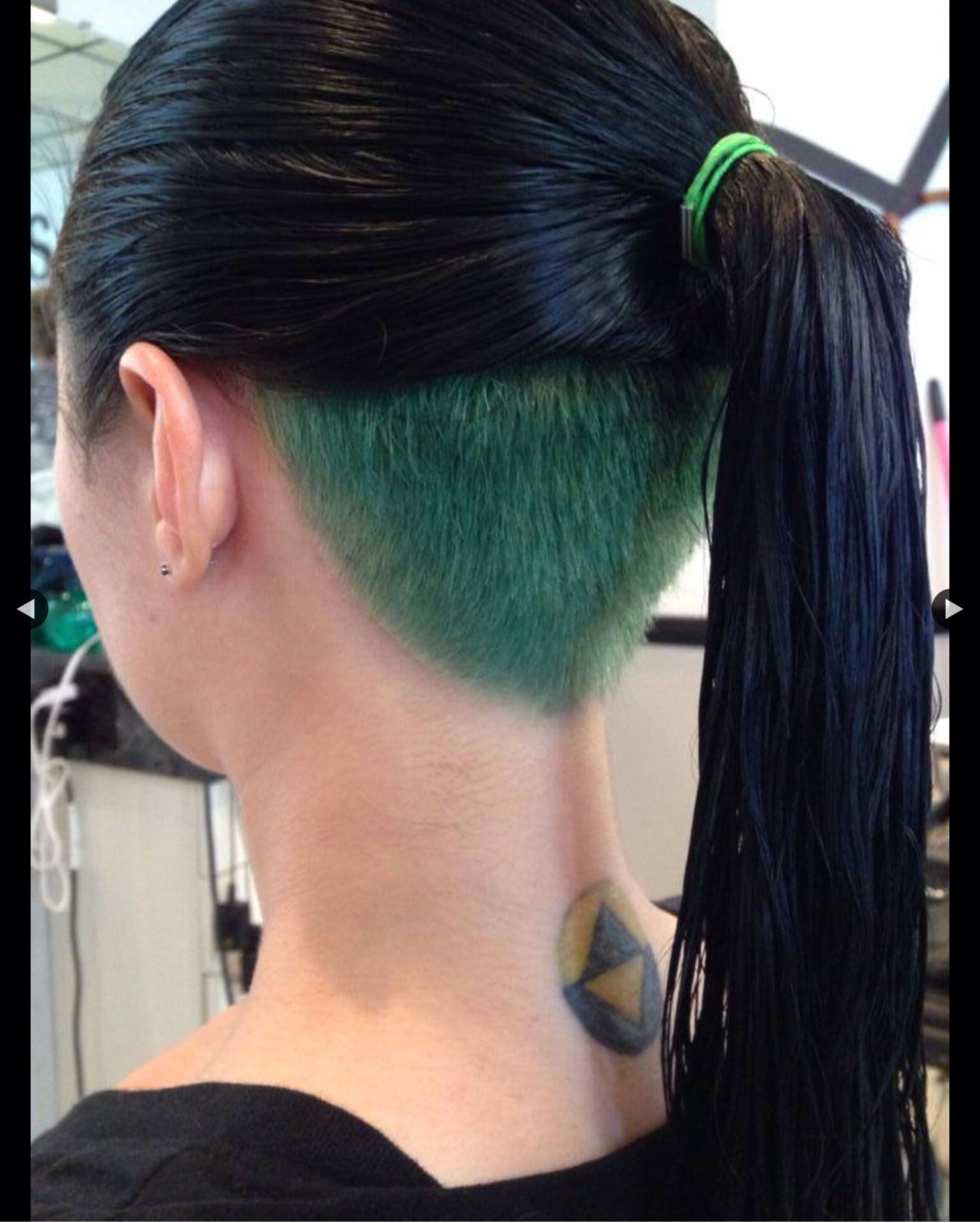 Green Undercut (View 8 of 20)