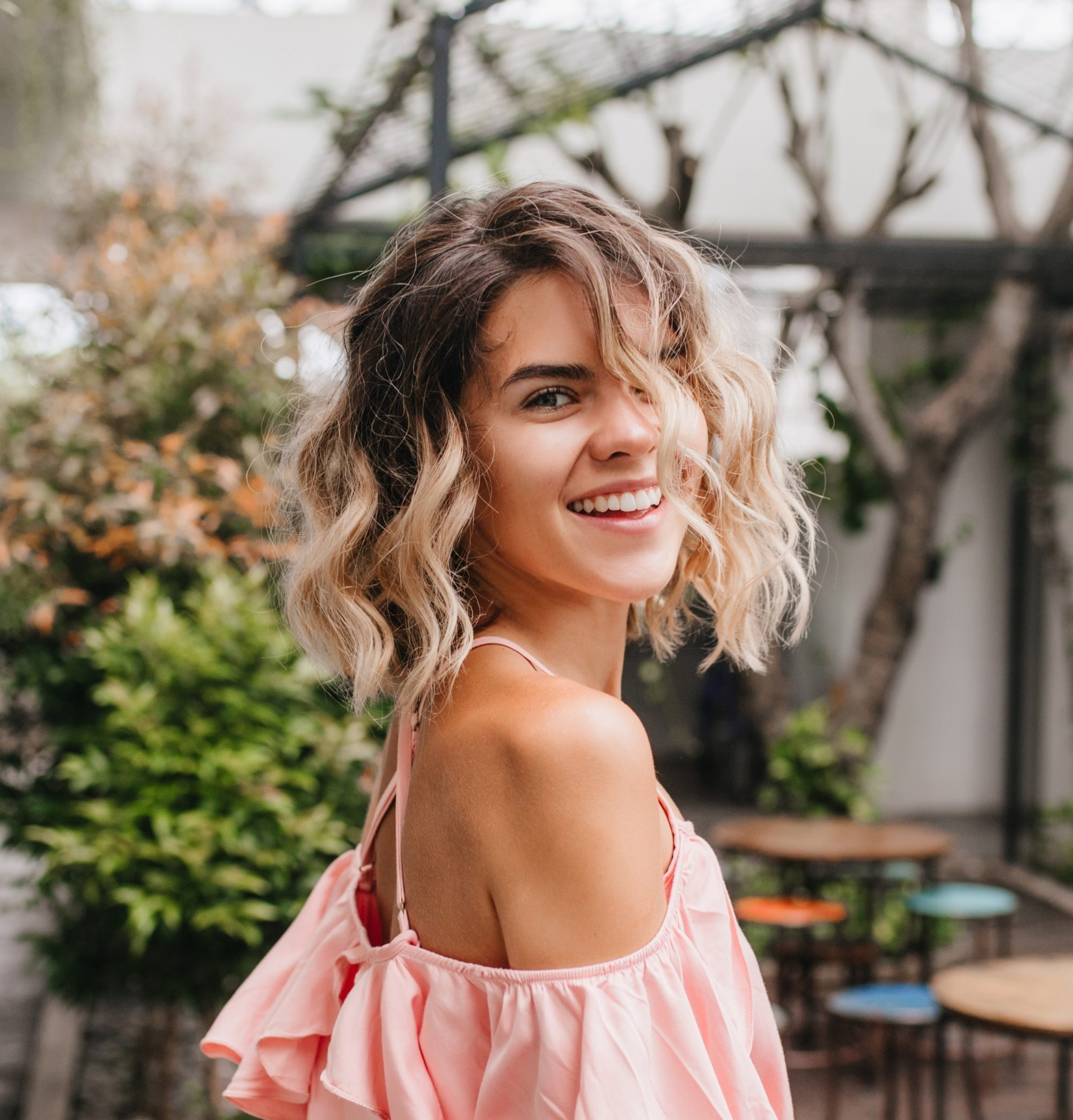 Hair Color For Curly Hair: 10 Ideas To Level Up Your 'do Regarding Fashionable Plum Brown Pixie Haircuts For Naturally Curly Hair (View 15 of 20)
