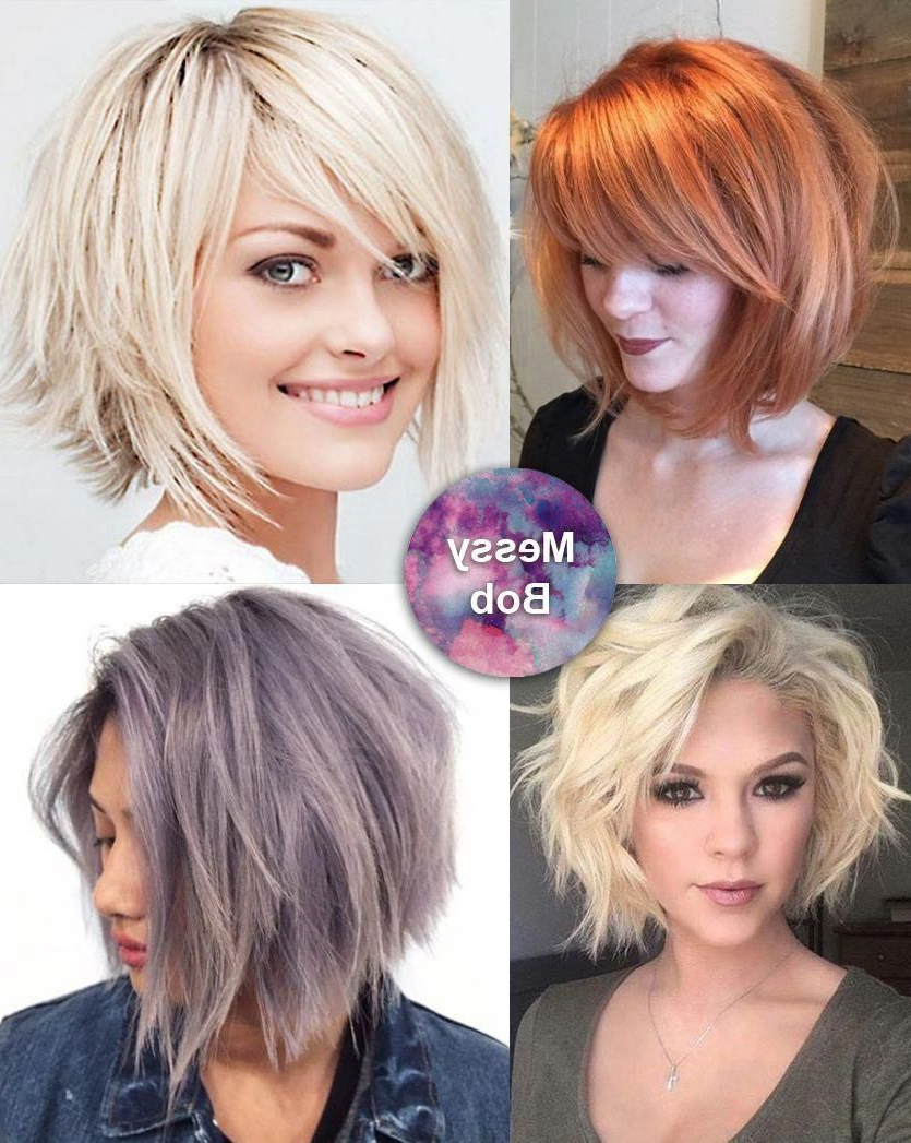Hair It Up With Popular Gorgeous Bob Hairstyles For Thick Hair (View 10 of 20)