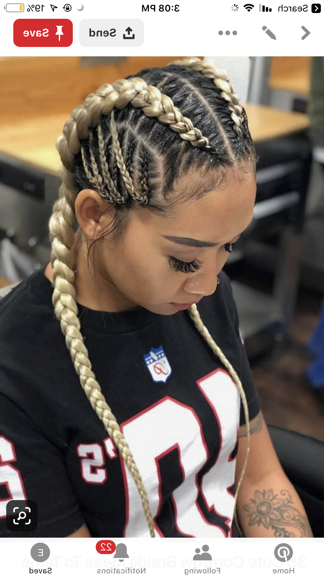 Hair Styles, Braided Hairstyles For Regarding Most Up To Date Cornrow Fishtail Side Braid Hairstyles (View 8 of 20)
