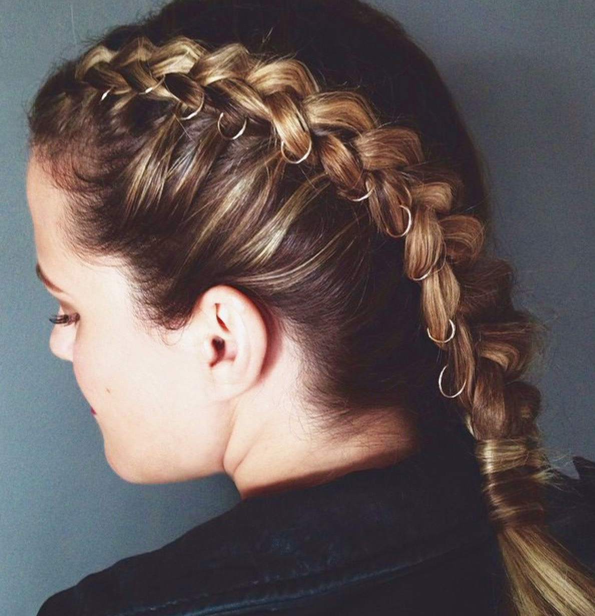 Hair Styles, Hair Inspiration Throughout Newest Hoop Embellished Braids Hairstyles (View 3 of 20)