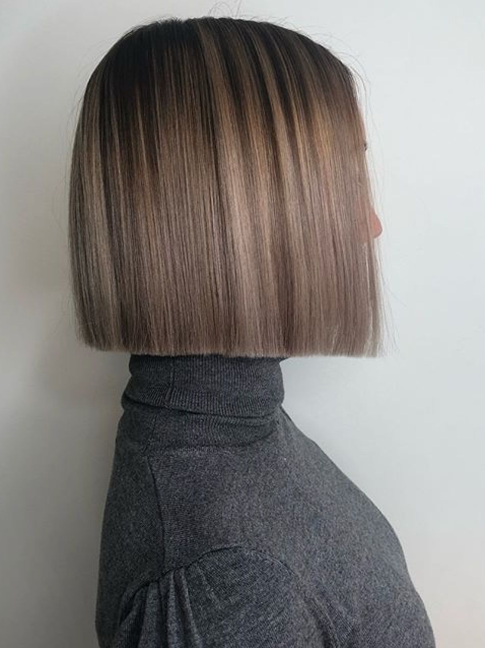 Hair Styles, One Length Haircuts, One With Regard To 2017 Shiny Strands Blunt Bob Hairstyles (View 17 of 20)