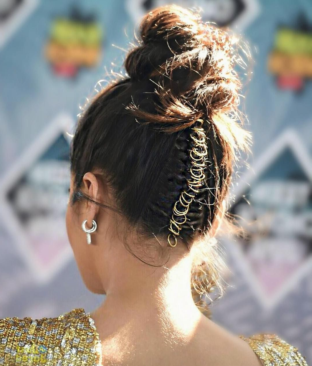 Hair With Regard To Famous Hoop Embellished Braids Hairstyles (View 11 of 20)
