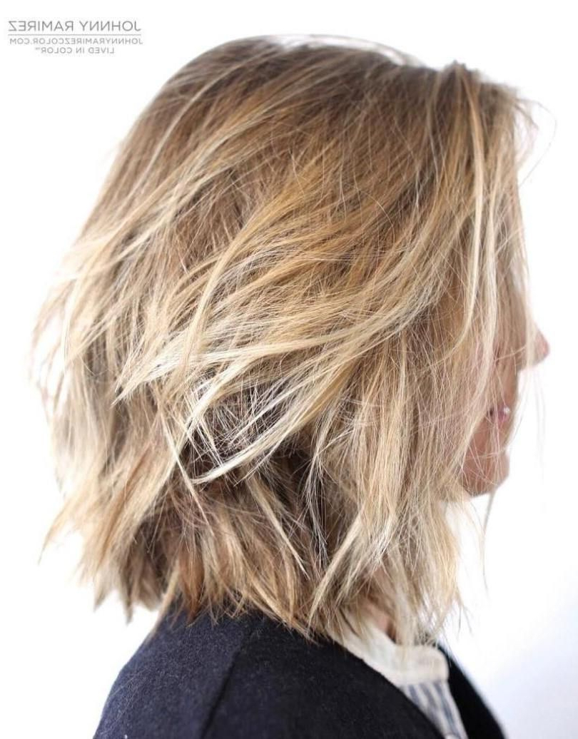 Haircuts In Well Known Shaggy Bob Hairstyles With Choppy Layers (View 9 of 20)