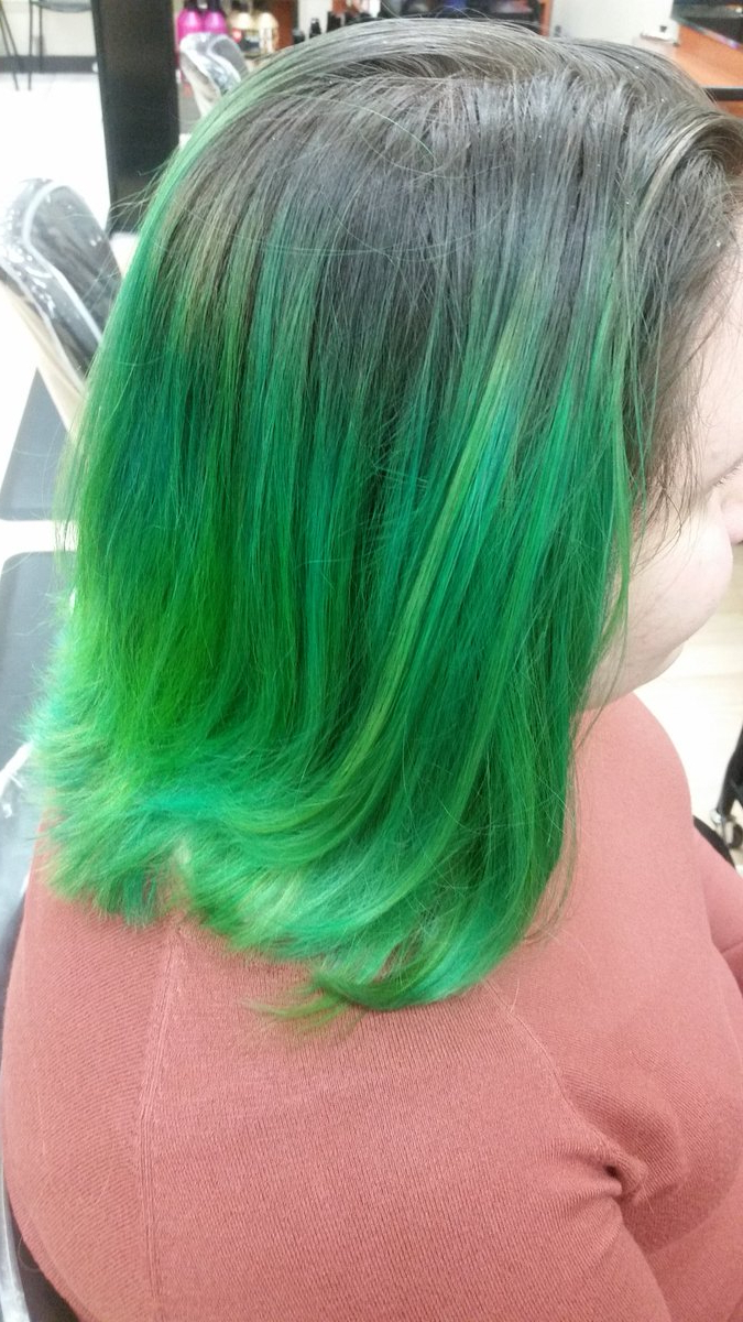 Haircuttery Hashtag On Twitter In Most Recently Released Aqua Green Undercut Hairstyles (View 16 of 20)