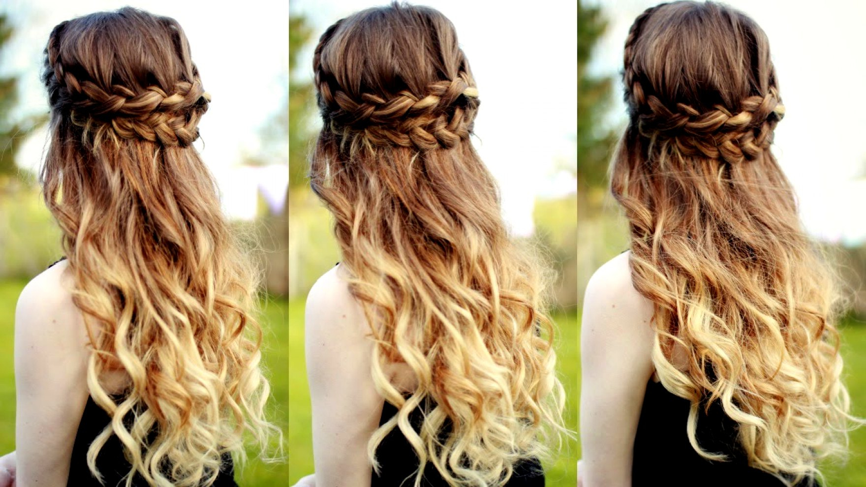 Half Up Down Braided Hairstyles Perfect Maxresdefault Images Throughout Most Recent Half Braided Hairstyles (View 13 of 20)