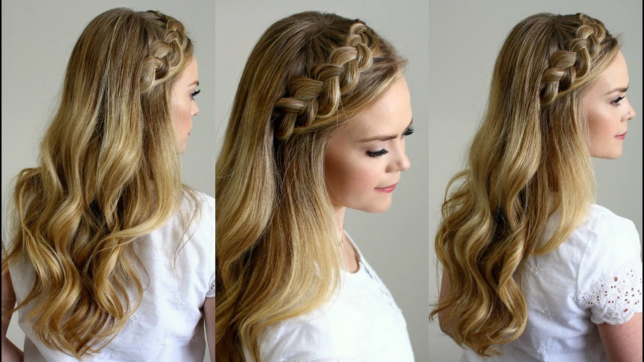 Headband Braid – Style Like Pro With Regard To Well Known Headband Braid Hairstyles With Long Waves (View 13 of 20)
