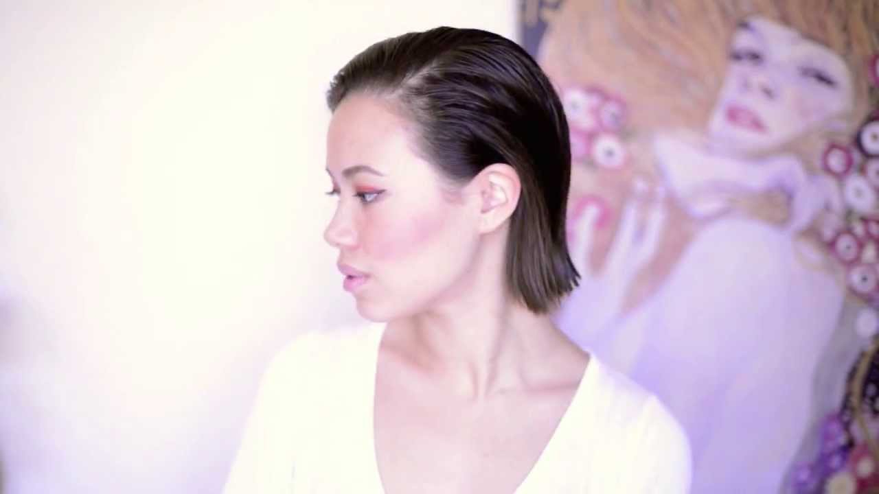 Hollywood Inspired: Slicked Back Prom Hair (View 7 of 20)
